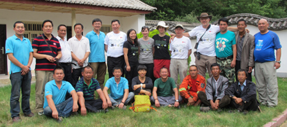 Participants to the expedition