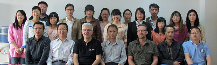 Debriefing and meeting with the master students at Lanzhou University